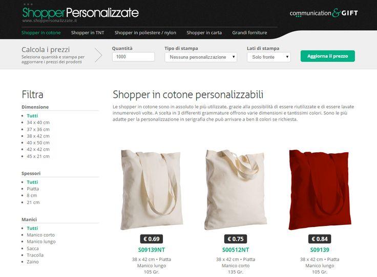 Shopper Personalizzate www.shoppersonalizzate.it