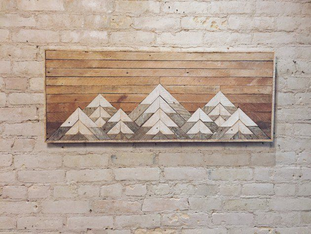 18 Slick Handmade Reclaimed Wood DIY Projects That Youll Do Right Away                                                                                                                                                                                 More