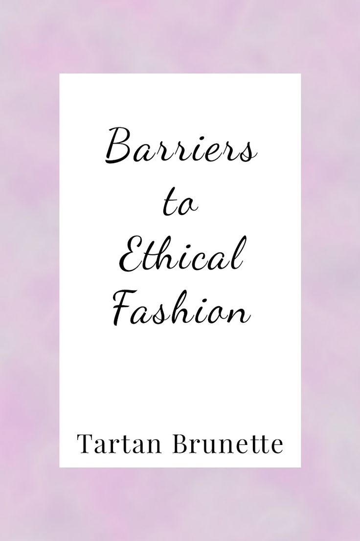 Shopping for ethical fashion isn't always easy. Click through to find the 6 main…