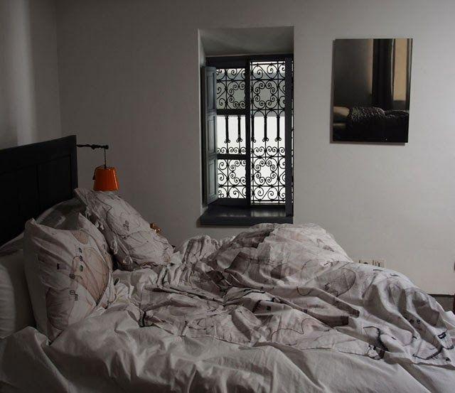 Dar Kawa - Mumtaz suite with Bandit Queen bed linen. Design valerie Barkowski