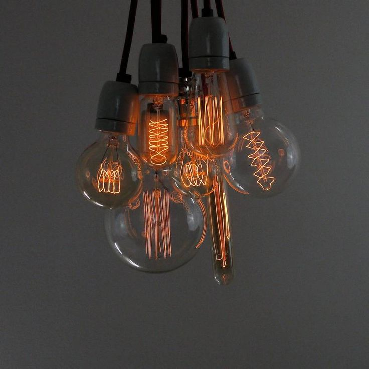 Vintage Style Squirrel Cage Light Bulb from notonthehighstreet.com