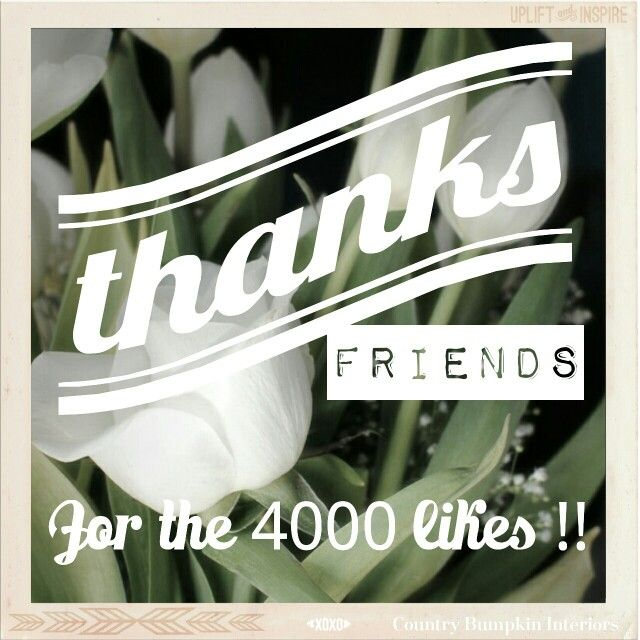 #thanksforthelikes #4000likes #4000 #facebook #greatful #happy #saying #thanks #thankyou #friends