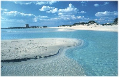 The italian sea at Salento for your italian holidays www.tourismando.it!!