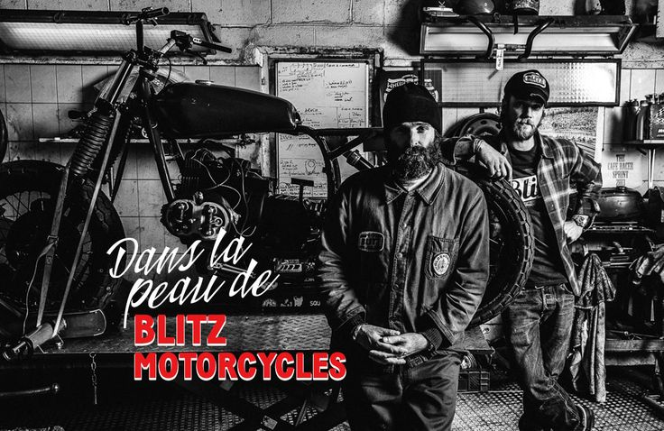 77 best blitz motorcycles l 39 tincelle vintage images on for Garage l etincelle