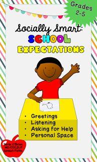 Social Skills: School Expectations