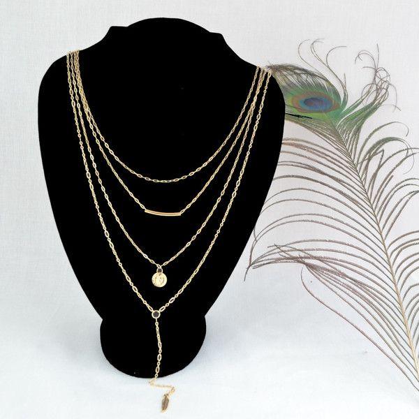 Collar en gold filled - Diana's Shop