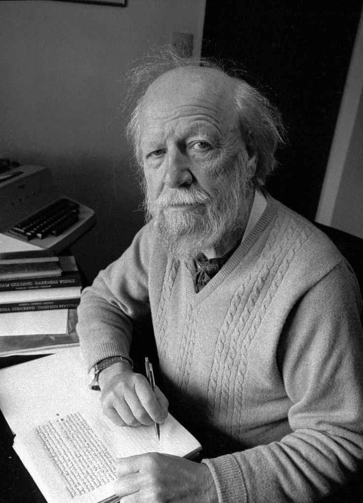 "William Golding, author of ""Lord of the Flies"""