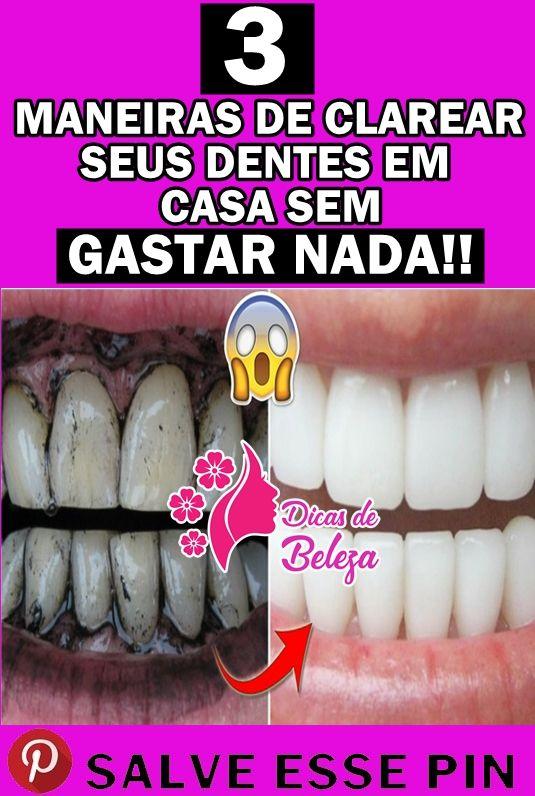 As 6 Dicas Naturais Para Clarear Os Dentes Em Casa Dicas De