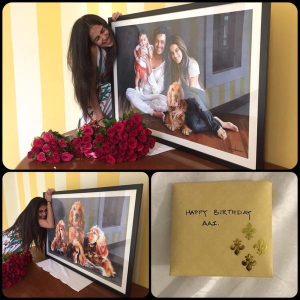 #RiteshDeshmukh Gifted Her Beloved #Genelia Something Very Cute: Look #BestBirthdayGiftEver http://bit.ly/1OUJyc2  #bollywood #bollywoodnews #gift #birthdaygift #celebrity