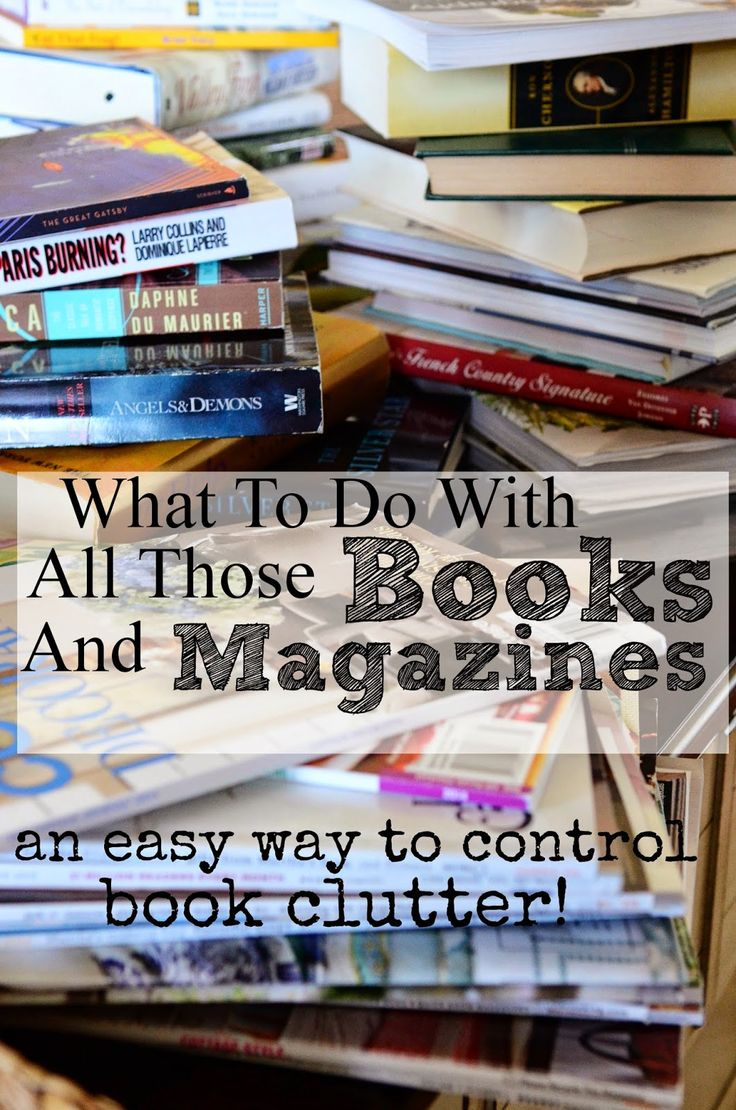 Best 25 organizing books ideas on pinterest home for Best way to get rid of clutter