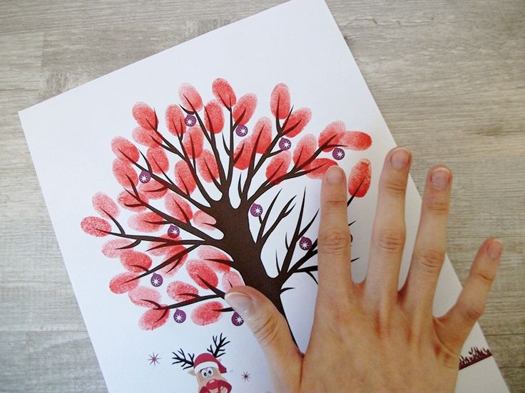 Tutoriel DIY: Créer un arbre à empreintes via DaWanda.com
