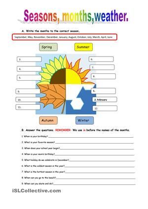 vocabulary and grammar to revise weather topic and present