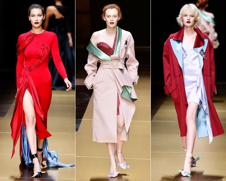 Your Cheat Sheet to Fall 2016 Couture Fashion Week - Versace Debuts a New Look from InStyle.com