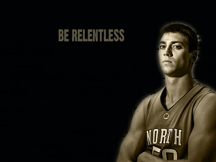 Tyler Hansbrough Be Relentless Wallpaper