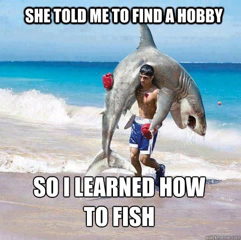 Funny fish memes - photo#35
