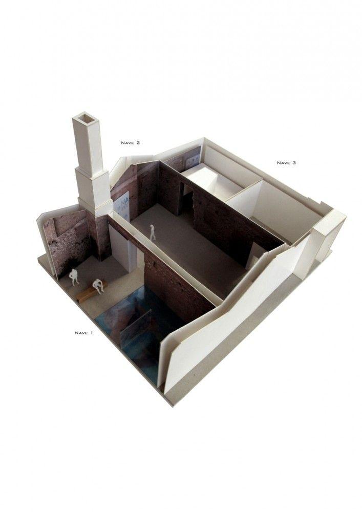 Museo del Agua de Lanjarón / Juan Domingo Santos 03_axo maqueta 1_50 – Plataforma Arquitectura