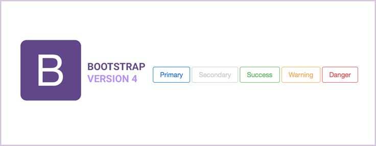bootstrap 4 bouton outline