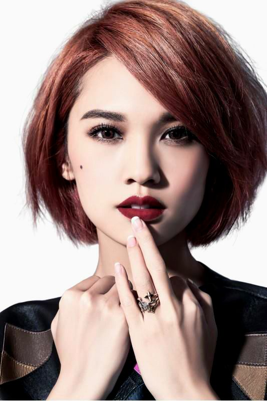 The 25 Best Asian Red Hair Ideas On Pinterest Asian