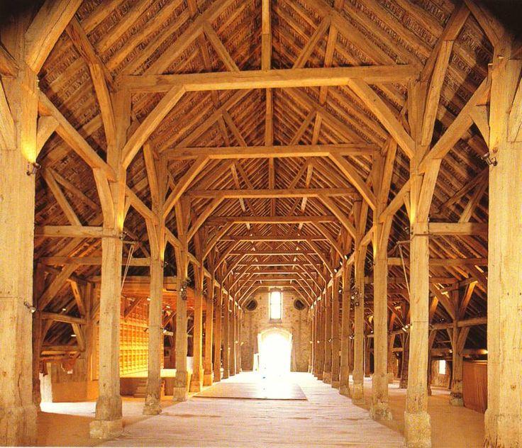Grange médiévale de Meslay