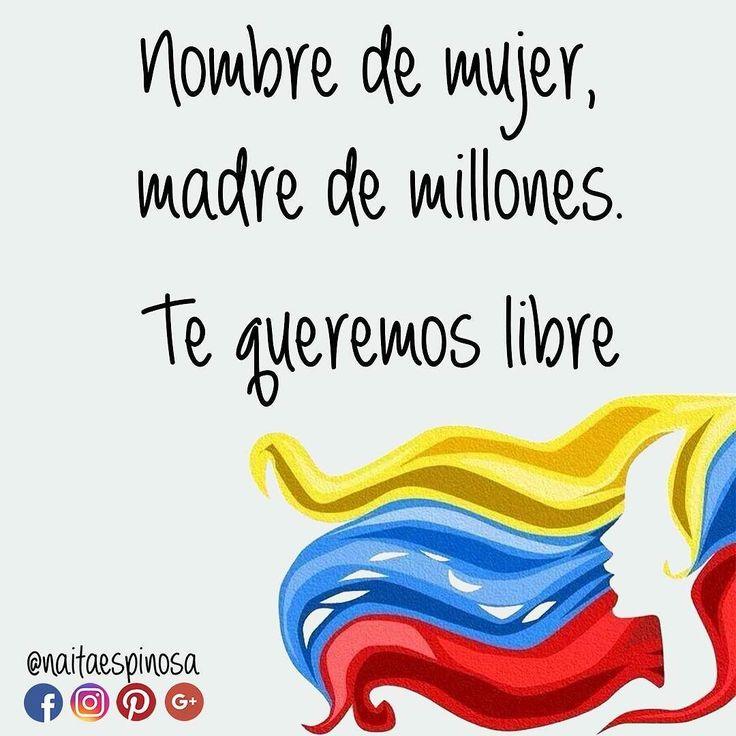 Este hermoso país es el hogar de muchos pero nos ha dado la vida a millones. Queremos justicia y libertad no división. #Venezuela #caracas #Mujer #madre #MadresPorVenezuela #19A #19abril #abril #libertad