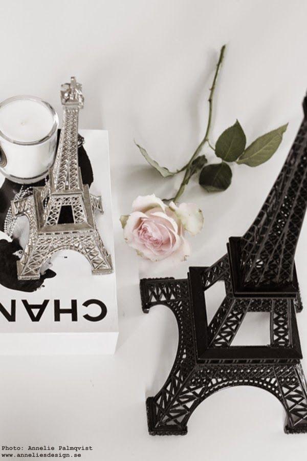Eiffeltorn i olika storlekar och färger www.anneliesdesign.se