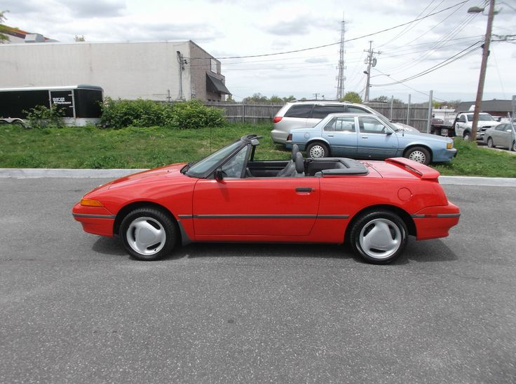 1993 Mercury Capri XR2 Convertible 2-Door | eBay