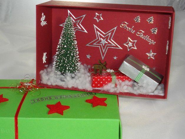 Deko und Accessoires für Weihnachten: Gutschein Weihnachten /Weihnachtsgutschein made by A -Z Bastelshop via DaWanda.com