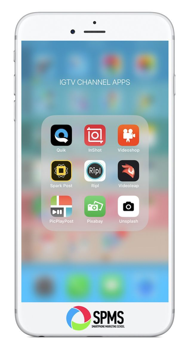 Discover The Best Smartphone Video Apps For Your Igtv Channel Videos Video App Picture Editing Apps Photography Editing Apps