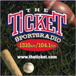 """Sports Radio 1310 The Ticket  My FAVORITE station to listen to in the mornings & mid afternoons!! I can even listen to them when I am out of town on my """"I heart radio"""" app on my phone which makes me a happy girl!! :^)"""