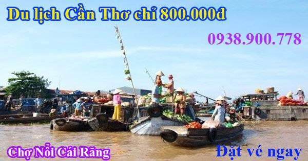 Vé máy bay đi Cần thơ giá rẻ 800.000đ của Vietnam Airlines