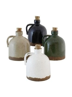 55% OFF The Import Collection Set of 4 Colored Piccolo Jug
