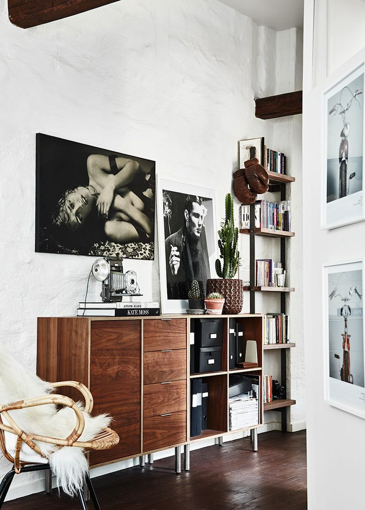 love this amazing space + gorgeous Scandinavian style + sophistication + perfect…