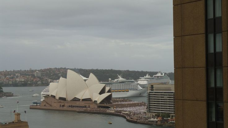 Room view from the Quay West Suites Sydney