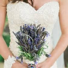 Who said you have to have traditional flowers? It's your wedding, so have it your way. If you're a lover of lavender, a bouquet of the flower leaves a sweet smelling aroma. #weddingideas #weddinginspiration #2016weddings #ruralweddings #devonweddingvenue #weddingflowers