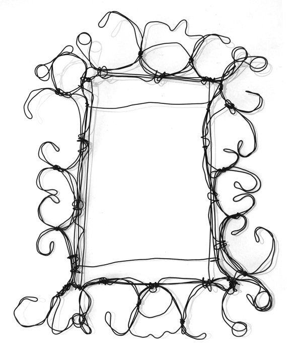 17 best ideas about wire picture frames on pinterest