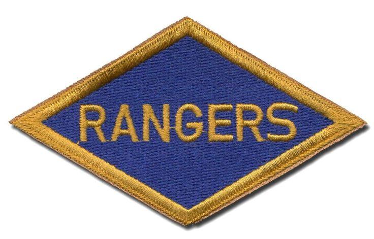 World War II US Army Ranger patch