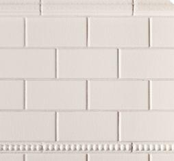 in 6x12 field: Ceramic Basics - Davenport - Ann Sacks Tile & Stone