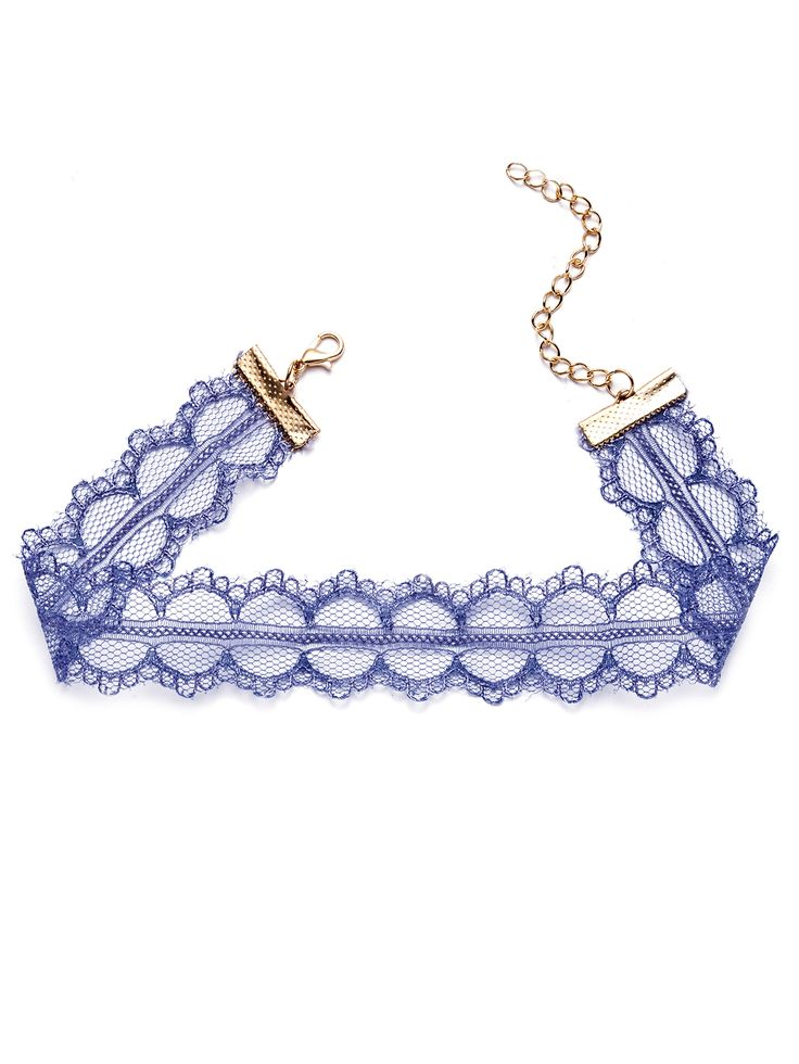 Shop Delicate Lace Choker Necklace online. SheIn offers Delicate Lace Choker Necklace & more to fit your fashionable needs.