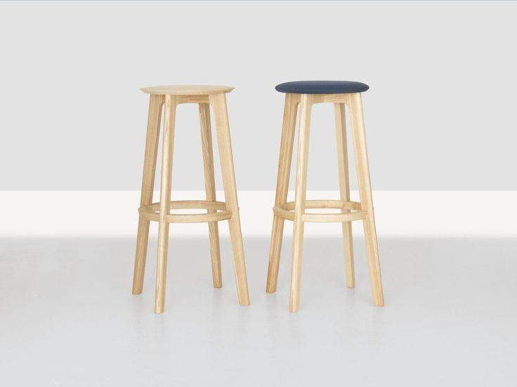 High wooden stool 1.3 BAR - ZEITRAUM