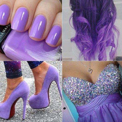 Purple Girly Things | www.pixshark.com - Images Galleries ...