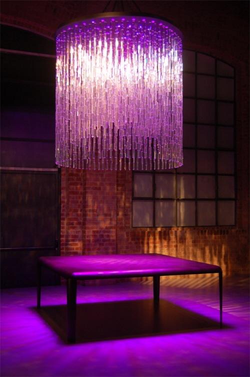 Swarovski Crystal Cascading Light Shade