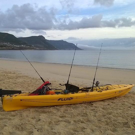 New Fluid Bamba Fishing Kayak