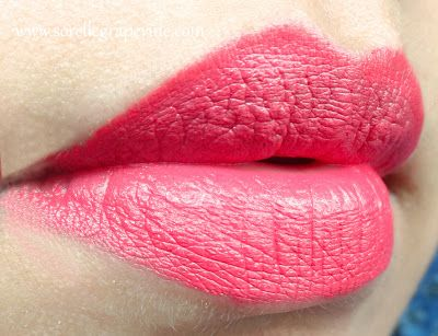 Colorbar Take Me As I Am Lipcolor Tango Pink - Swatch and Review