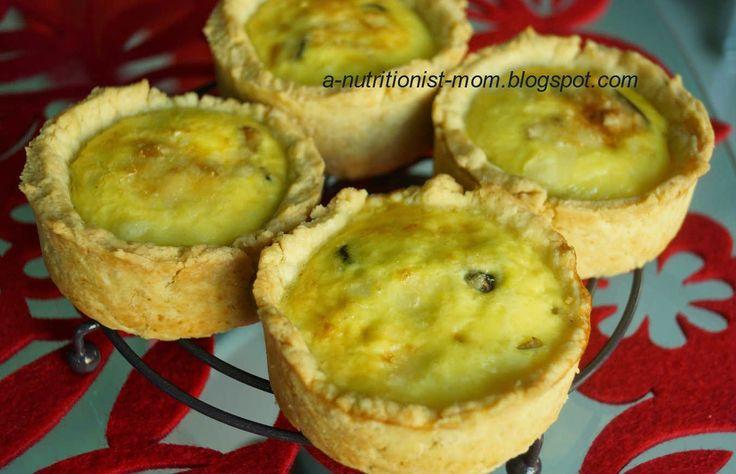 Journal of a nutritionist mom : Mini mushroom quiche