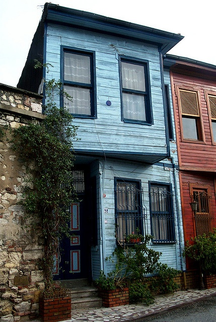 Istanbul's Wooden Houses, Turkey by David, via Flickr