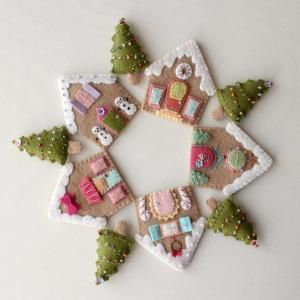 Gingerbread Houses pdf Patt..