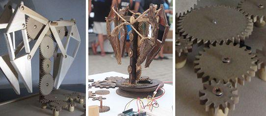 RUNN-3R Prototipo::: Fragmento Autómata, inspirado en animaris de Theo Jansen