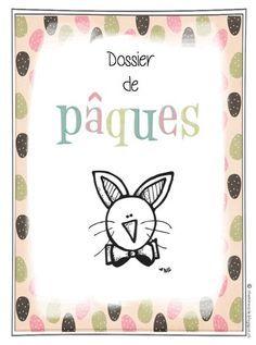 Dossier de Pâques - Fiches et coloriage pour ce1 et cp.