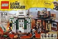 Lone Ranger Lego Bank Robbery
