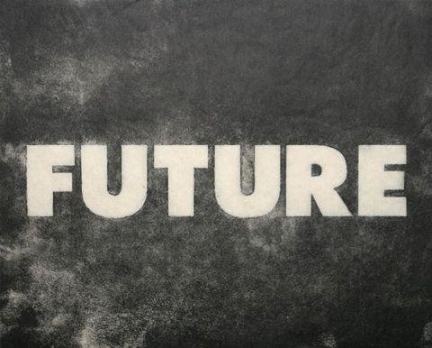 Grieken hebben een tragisch idee bij de toekomst. Omdat het je nog moet overkomen en het heden al geweest is.